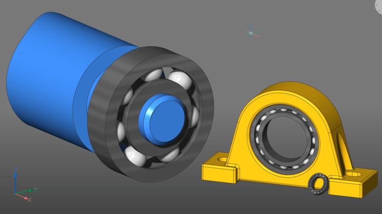 Create parametric parts using 3D constraints