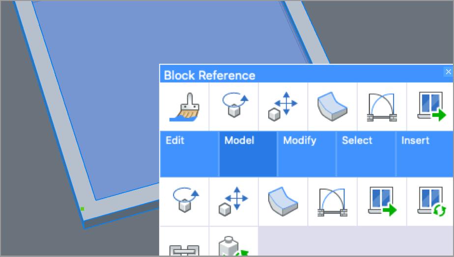 Quad cursor