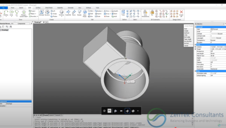 3D Direct Modeling in BricsCAD