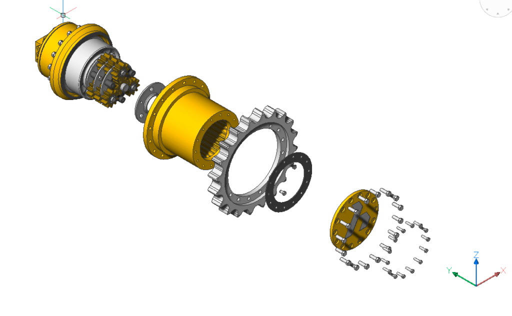 BricsCAD Mechanical Exploded Views