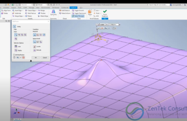 Freeform Modeling in Autodesk Inventor