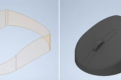 Inventor Modeling Surfaces