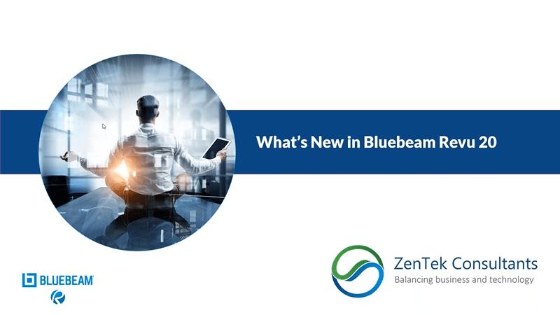 What's New in Bluebeam Revu 20