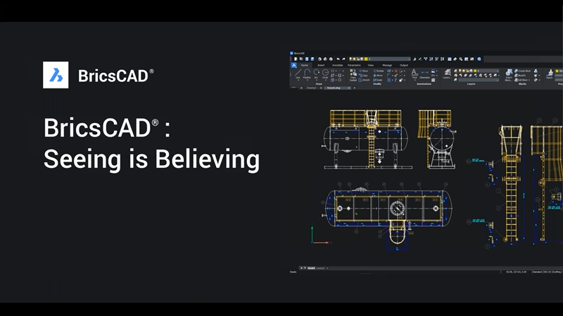 BricsCAD: Seeing is Believing
