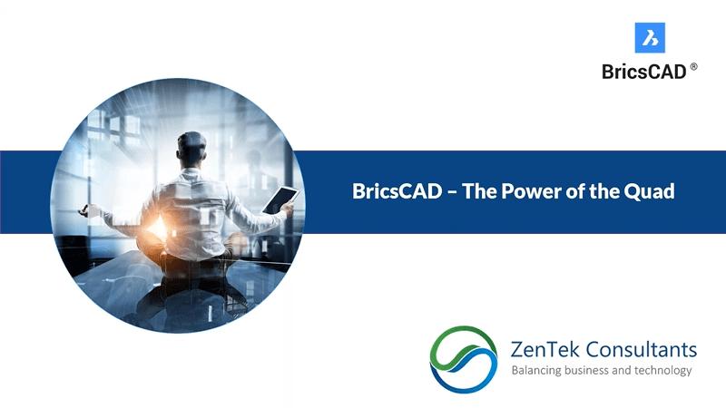 BricsCAD – The Power of the Quad