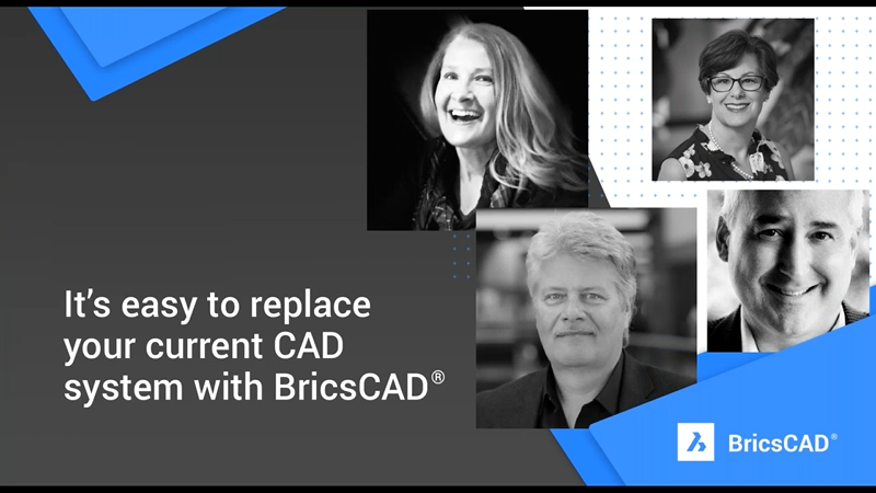 It's easy to replace your current CAD system with BricsCAD
