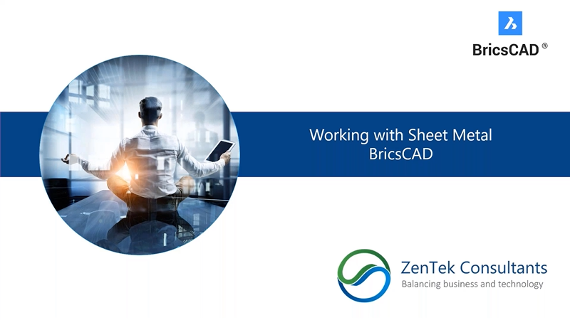 Working with Sheet Metal in BricsCAD
