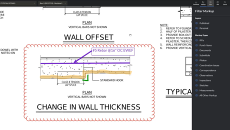 Procore Simple Drawing Markups