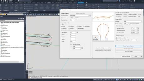 Cul-De-Sac Design in AutoCAD Civil 3D